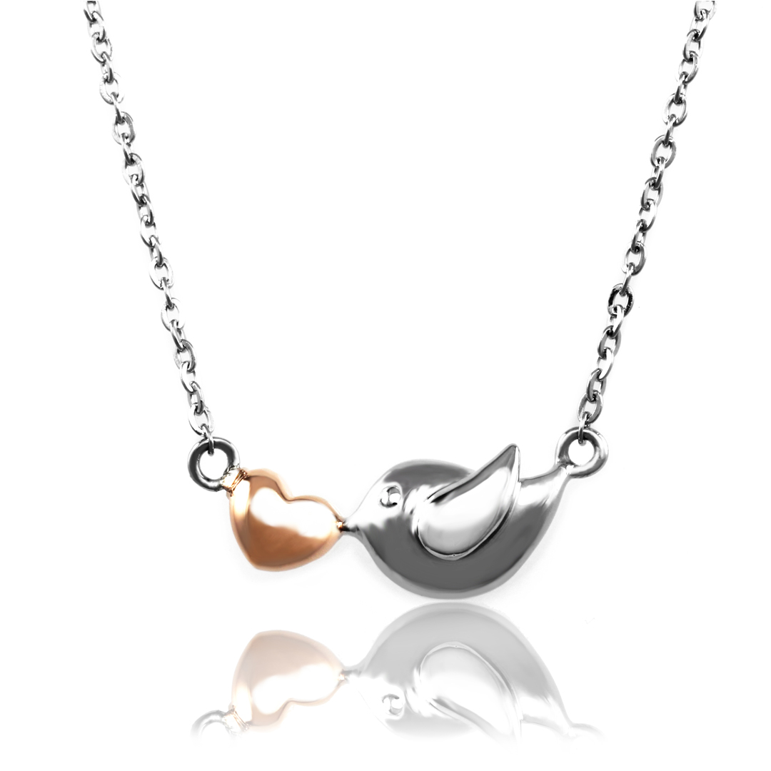 of bird pendant love necklace bonas jewellery oliver prey birds thomas