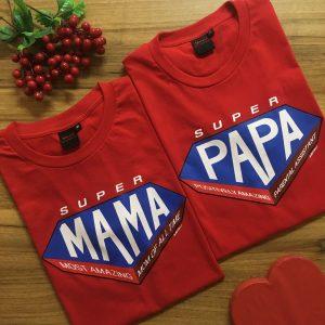 super-mama-papa-red