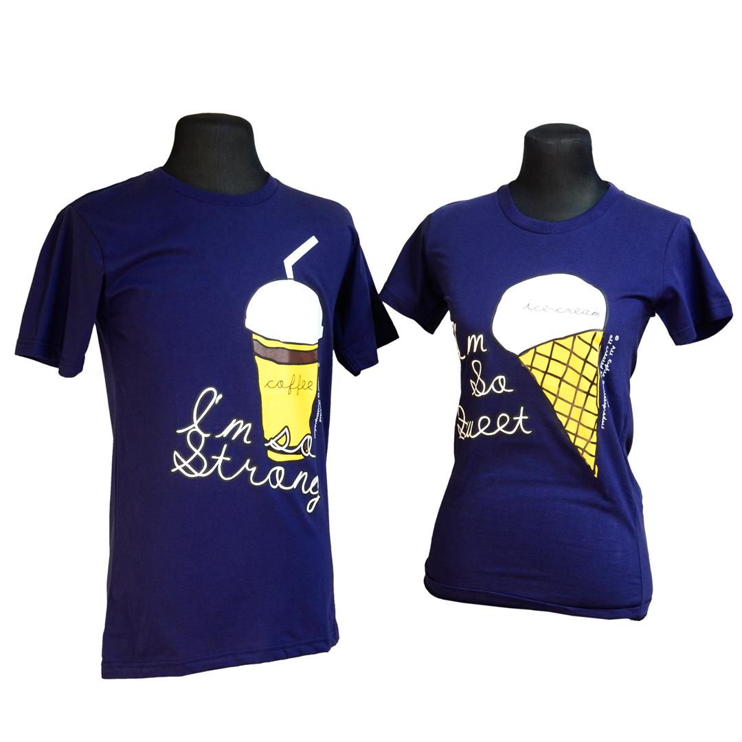 ea5766490d Coffee (Navy Blue) Couple Shirt – Me&U