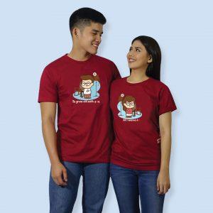 grow-maroon-couple-shirt